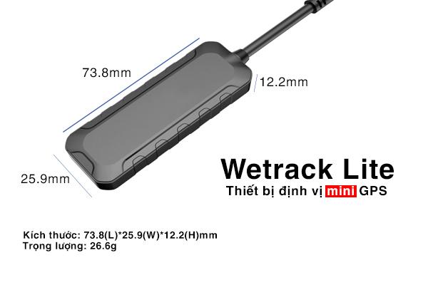 Thiết bị định vị xe máy GPS Wetrack lite