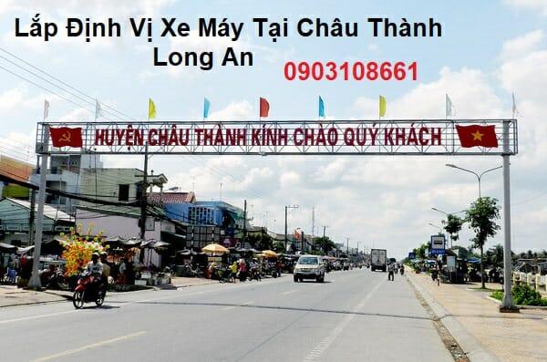 Lắp Định Vị Xe Máy Tại Châu Thành Long An