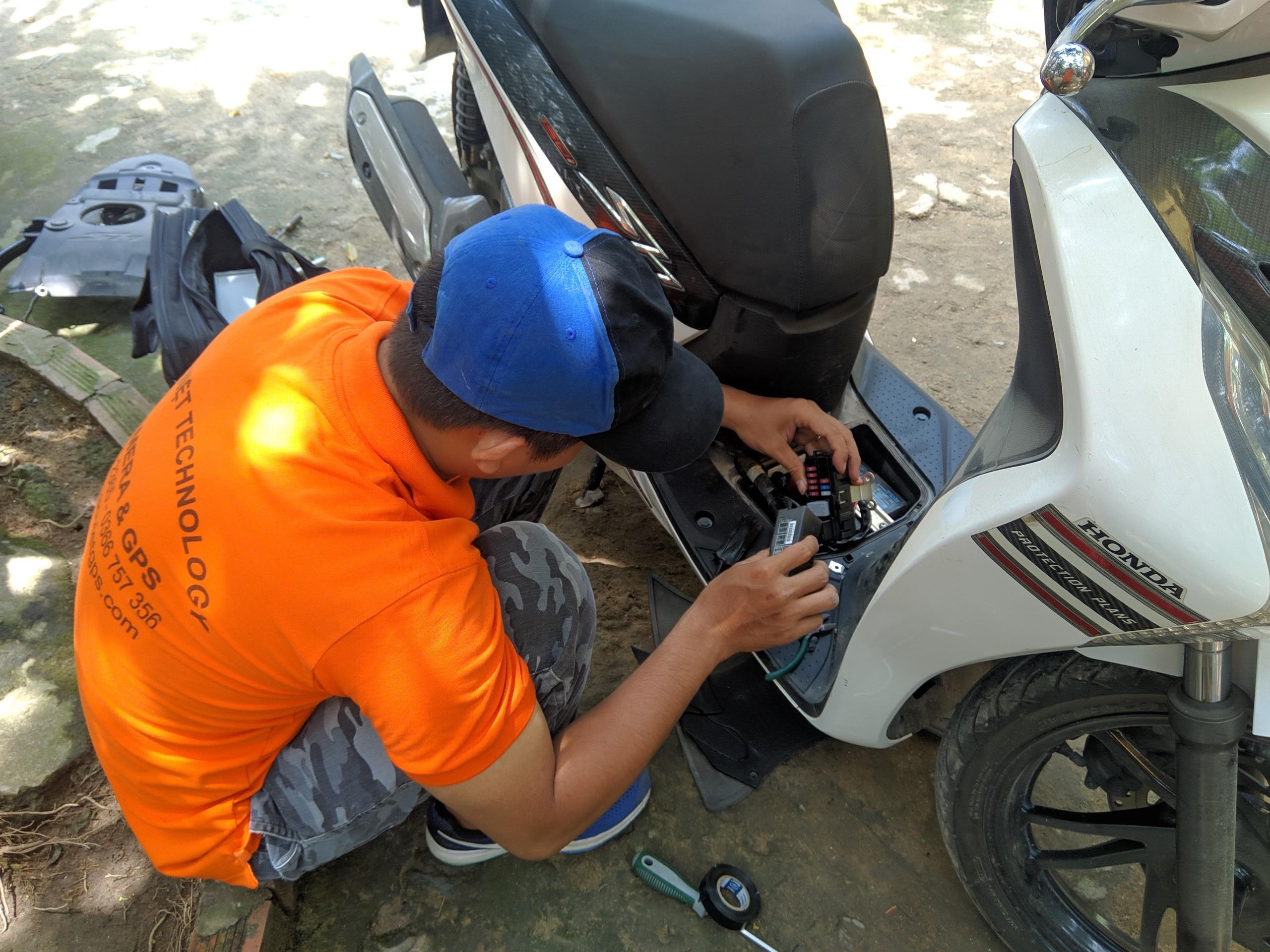 Lắp định vị xe máytại Hà Giang